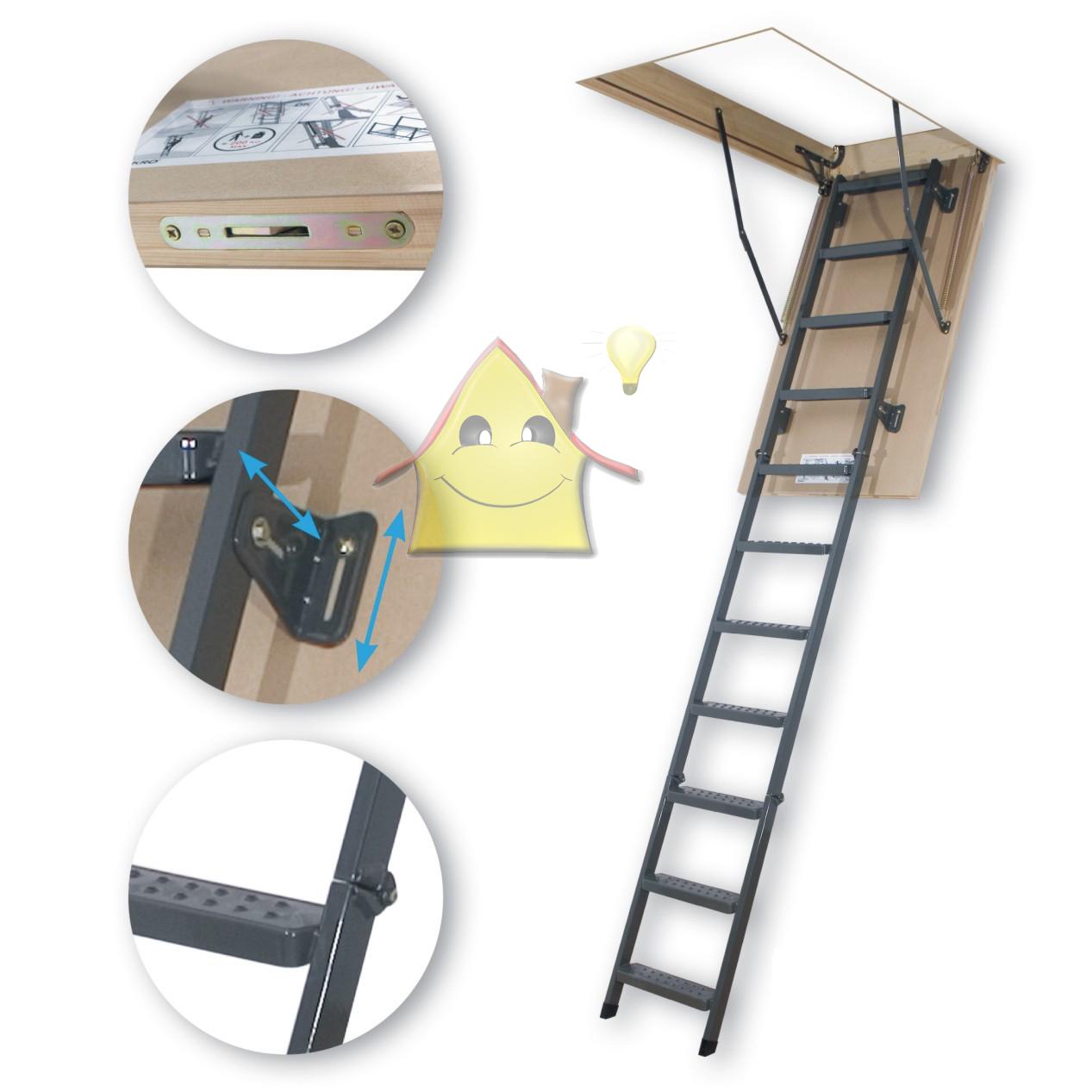 Как своими руками сделать складную лестницу 30